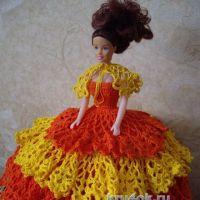 Платье для Барби — работа Наталии