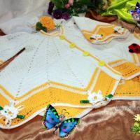 Кардиган Крылья бабочки  — работа Ирины Кангаш