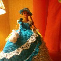 Кукла — грелка на чайник