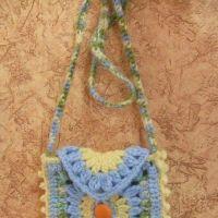 Детская сумочка Квадратик — работа Елены