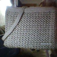 Вязаная крючком сумка — работа Альбины Петровны