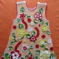 Платье для девочки — работа Нины Колотило