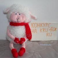 Новогодняя овечка — работа Екатерины