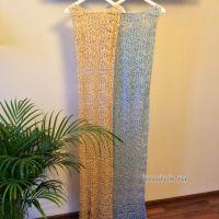 Вязаное крючком платье — работа Алины