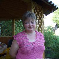 Вязаный крючком топ — работа Марии Казановой