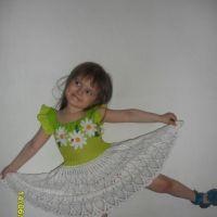 Платье для девочки работа Дианы