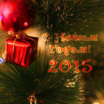 С наступающим Новым 2015 Годом!