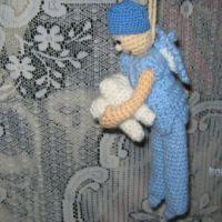 Вязаная игрушка — работа Галины В.