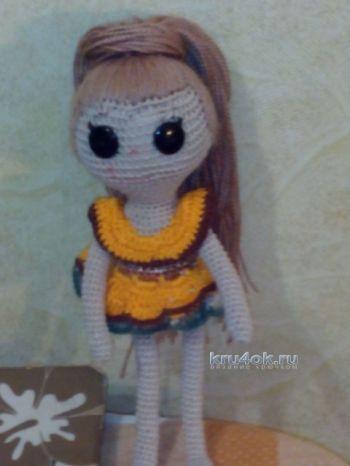Вязаные куклы Лалалупси — работы Неонилы