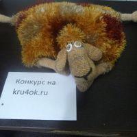 Подушка — овечка. Работа Натальи Самойловой