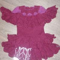 Вязаные крючком платья — работы Светланы