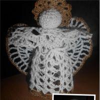 Вязаный крючком ангел — работа Ирины