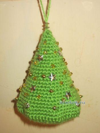 Вязаная крючком елка — МК от Елены. Вязание крючком.