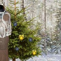 Вязаное крючком платье — работа Ирины