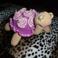 Вязаные крючком черепашки — работы Натальи Самойловой