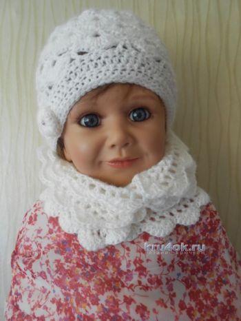 Детский комплект шапочка и