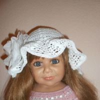 Летняя шляпка Белый колокольчик — работа Татьяны Султановой