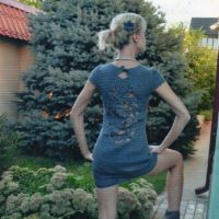 Женские платья крючком — работы Татьяны Султановой