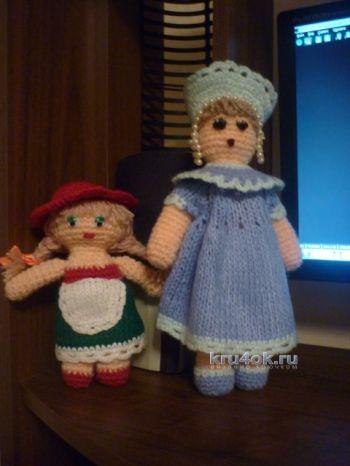 Вязаные куклы — работы Валентины. Вязание крючком.