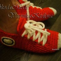 Кроссовки — носочки Кросс мужские — МК от Вероники