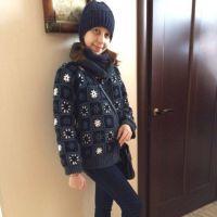 Теплая куртка крючком – работа Татьяны Султановой