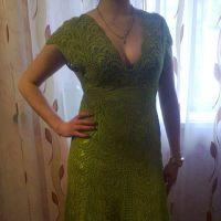 Вязаные платья — работы Ирины Стильник