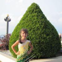 Платье для девочки — работа Арины