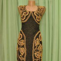 Платье крючком — работа Ефимии Андреевских