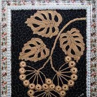 Картина крючком — работа Ефимии Андреевских