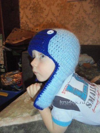шапку ушанку для сыночка,