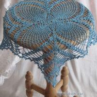 Ажурная салфетка Лилия — работа Светланы