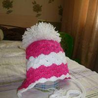 Шапка для малышки — работа Натальи Трусовой