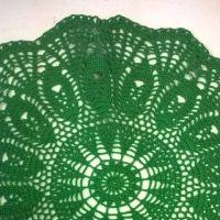 Вязаные крючком салфетки — работы Анжелики