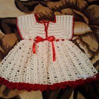 Платье для девочки — работа Татьяны Барышниковой