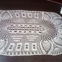 Вязаные крючком салфетки — работы Светланы