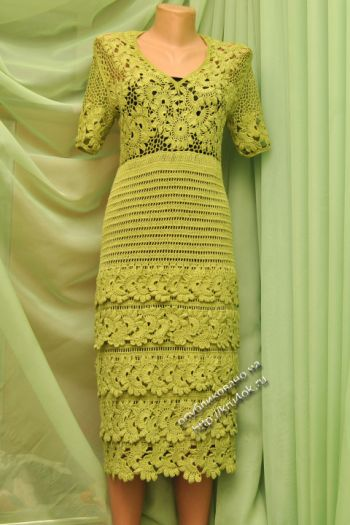 Платье Воланчики &#8212
