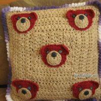 Декоративные подушки — работы Марины
