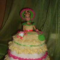 Куклы грелки на чайник — работы Светланы