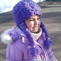 Шапочка для девочки — работа Татьяны