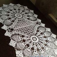 Вязаные салфетки — работы Светланы