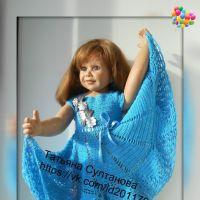 Платье для девочки — работа Татьяны Султановой