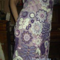 Платье в технике ирландского кружева — работа Светланы