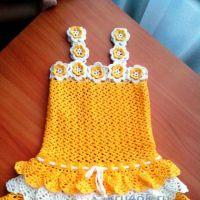 Сарафан и панамка для девочки — работа Дарьи