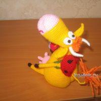 Вязаные игрушки — работы Маргариты