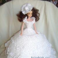 Платье для Барби — работа  Рябыкиной Натальи Викторовны