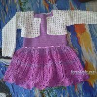 Платье и болеро для девочки — работы Натальи