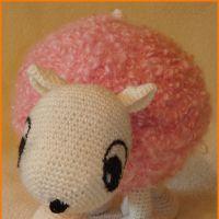 Вязаная игрушка — овечка. Мастер-класс!