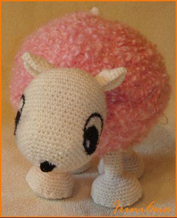 Вязаная игрушка – овечка. Мастер-класс!