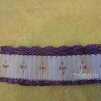 Вязаная повязка на голову — работа Елены Ворожко