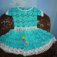 Платье для девочки — работа Татьяны